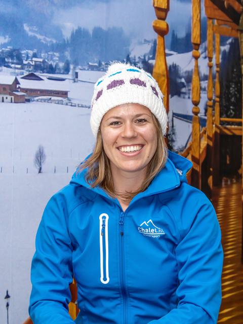 Reisgids Elise wintersport groepsreis Chalet.nl