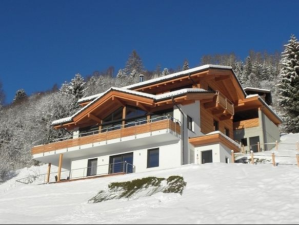 Chalet-appartement Alpenchalet am Wildkogel Smaragd met wellnessruimte - 8 personen