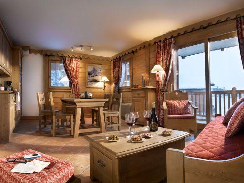 Chalet-appartement CGH Résidence Les Granges du Soleil Zilver - 4-6 personen