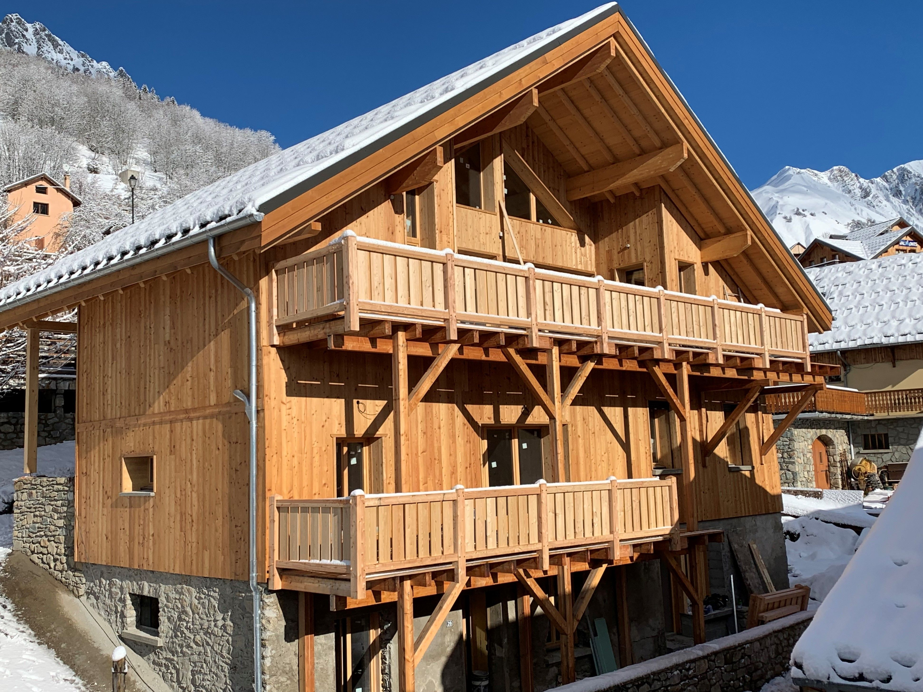 Chalet-appartement Opaline met privé-sauna - 12-14 personen