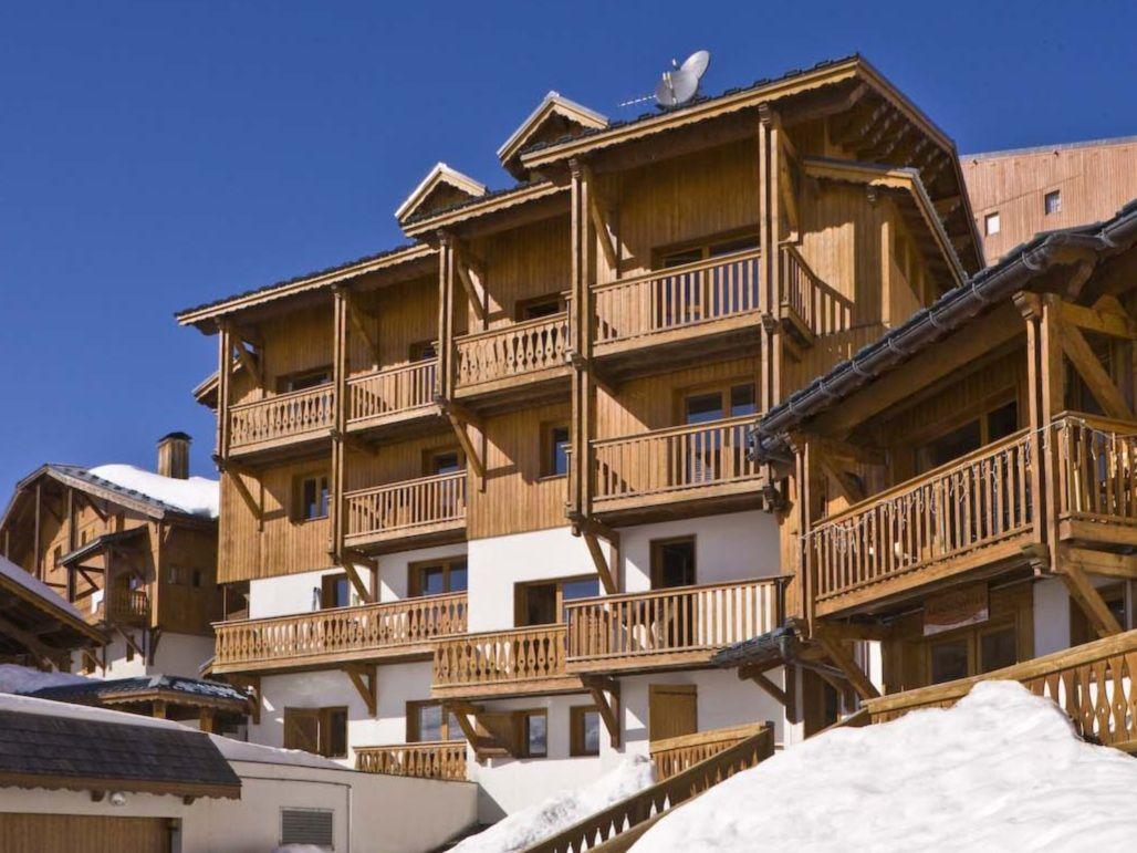 Chalet-appartement Montagnettes Hameau du Soleil II - 10 personen