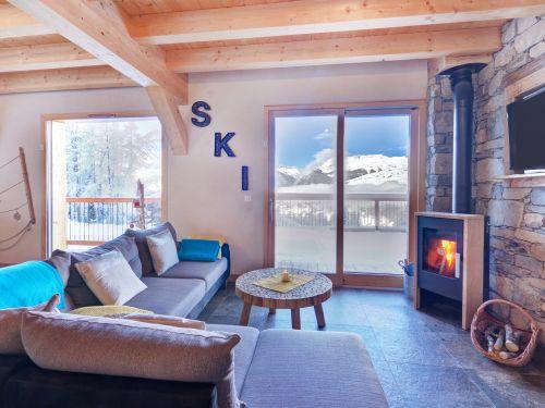 Chalet Ski Dream met sauna en buiten-jacuzzi - 10 personen