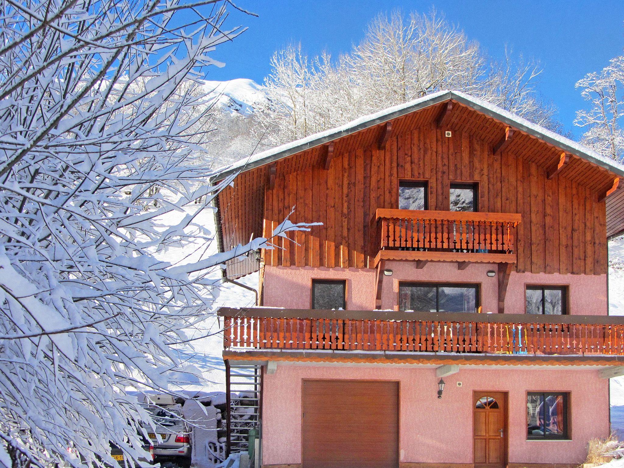 Chalet de Bettaix Perle des Trois Vallées met sauna en jacuzzi - 14 personen