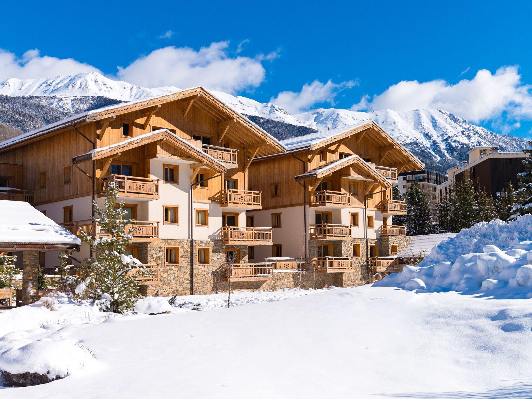 Chalet-appartement Le Hameau du Rocher Blanc