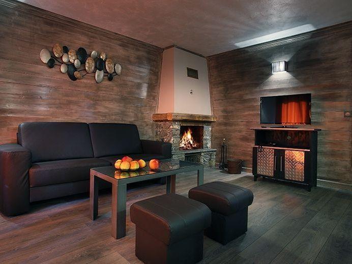 Chalet appartement des neiges hermine met mezzanine 6 pers val thorens - Mezzanine accommodatie ...