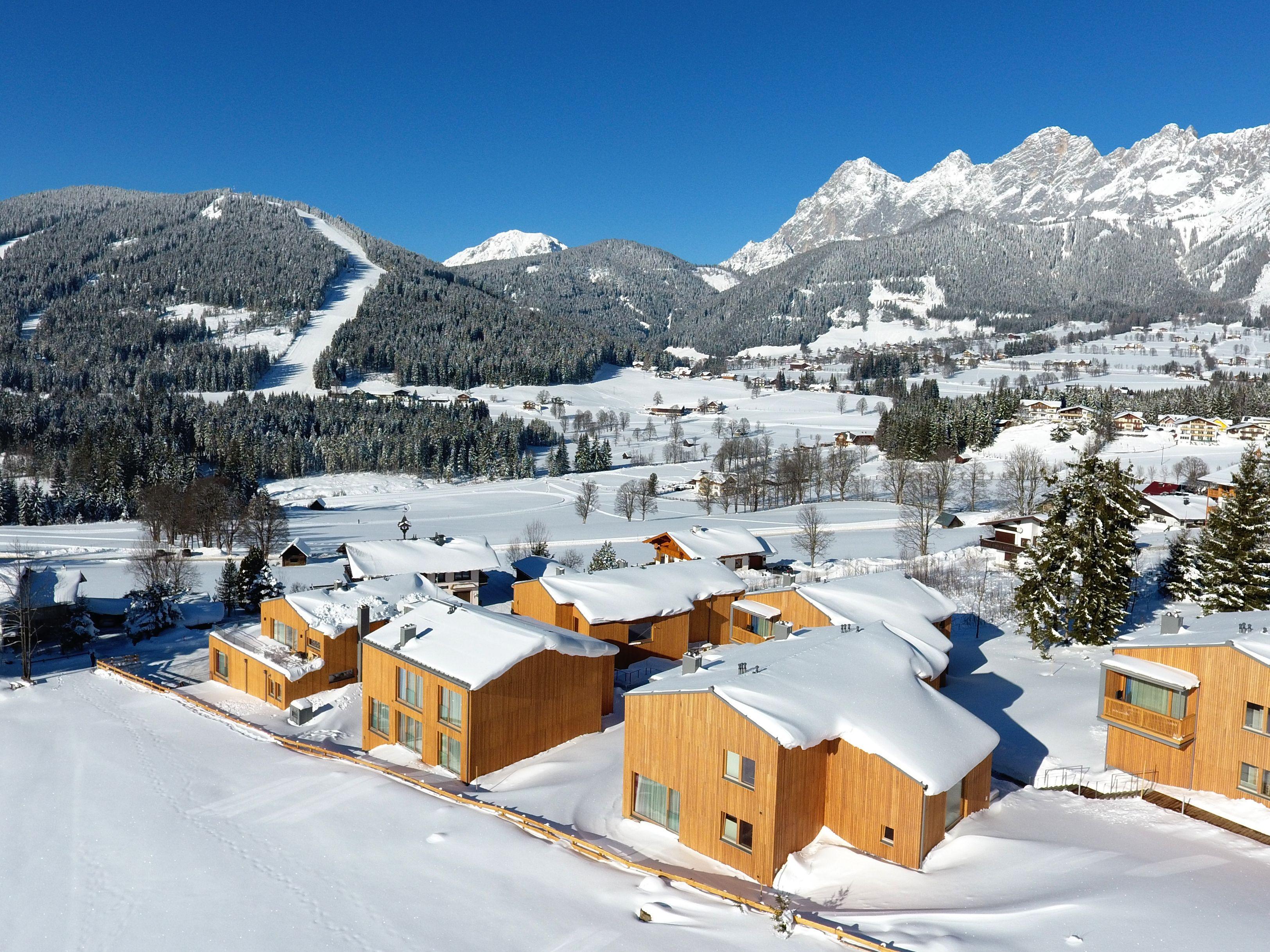 Chalet-appartement Rittis Alpin Penthouse Suite met sauna en open haard - 4-6 personen