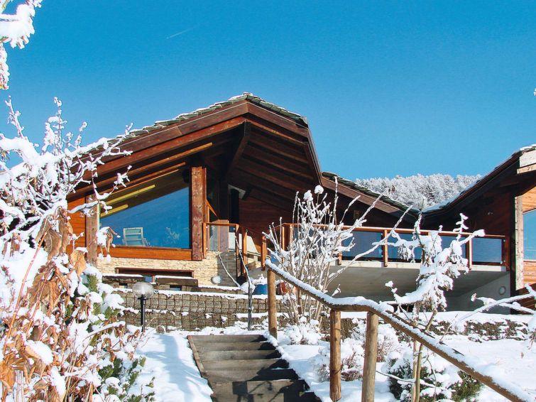 Chalet Aosta met privé-sauna en buiten-jacuzzi - 6-8 personen