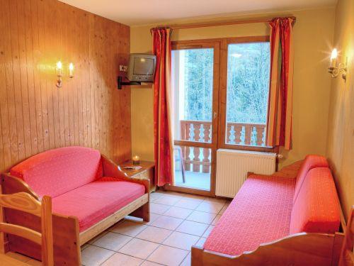 Chalet-appartement Les Balcons de Val Cenis Le Haut Type 2 met cabine - 4-6 personen