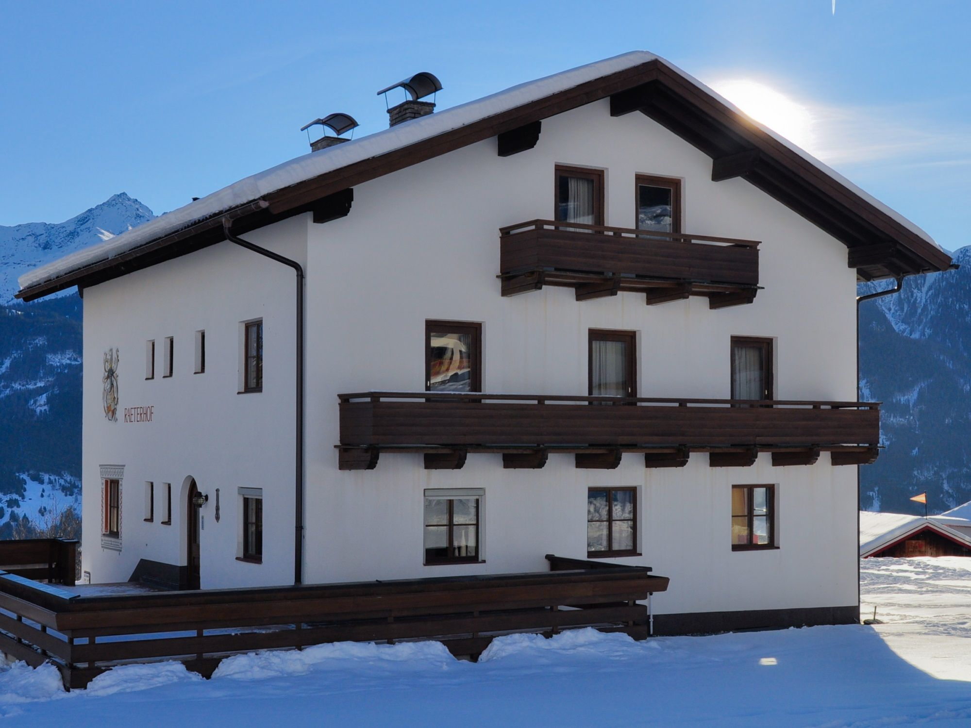Chalet Fiss - Chalet Raterhof inclusief catering