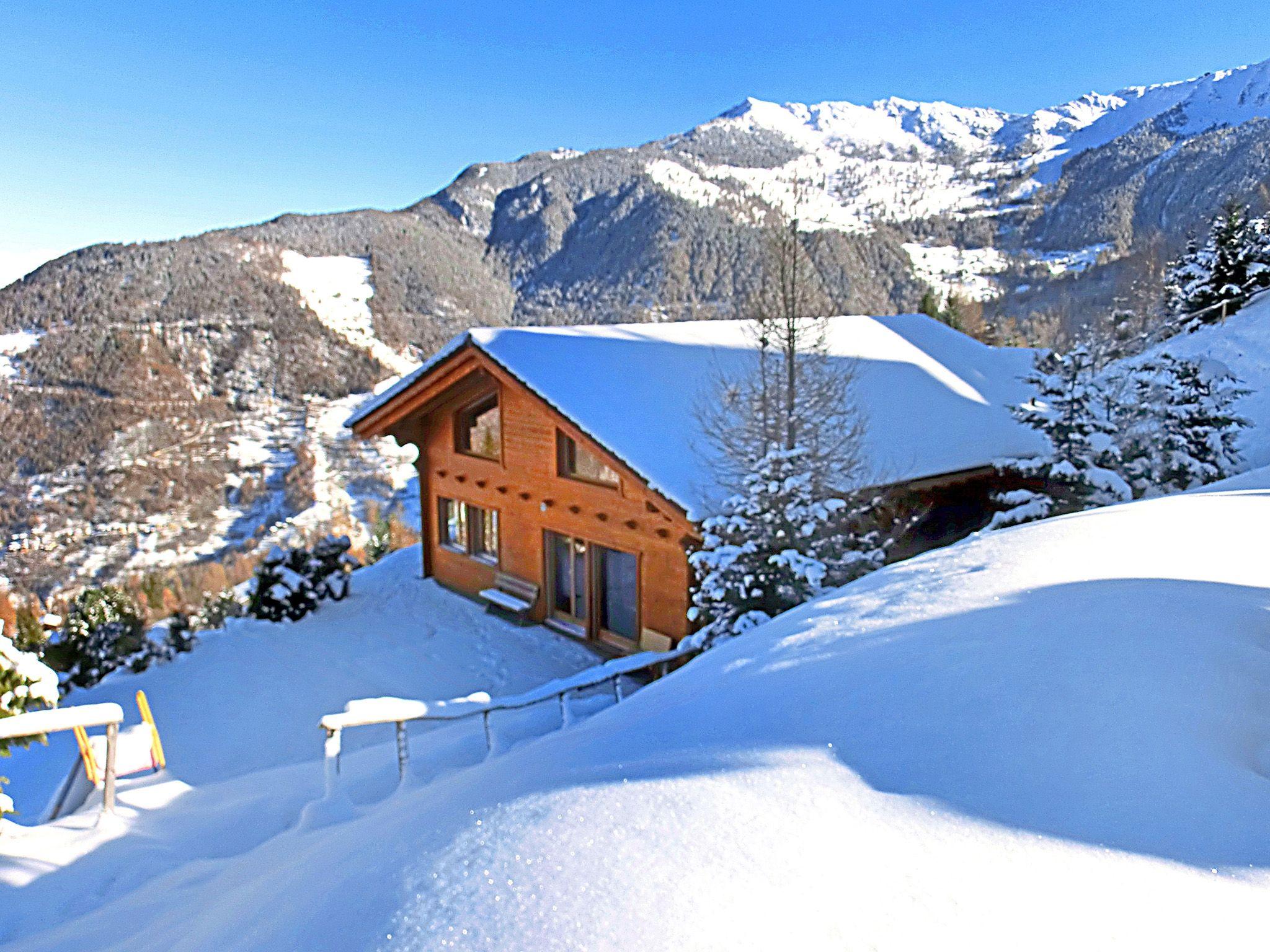 Chalet Alpina met privé-sauna - 10-12 personen