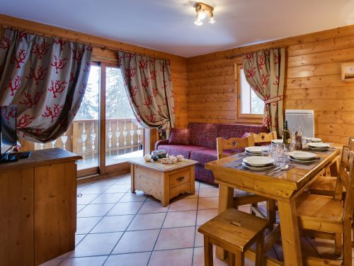 Chalet-appartement CGH Résidence Le Hameau du Beaufortain - 2-4 personen