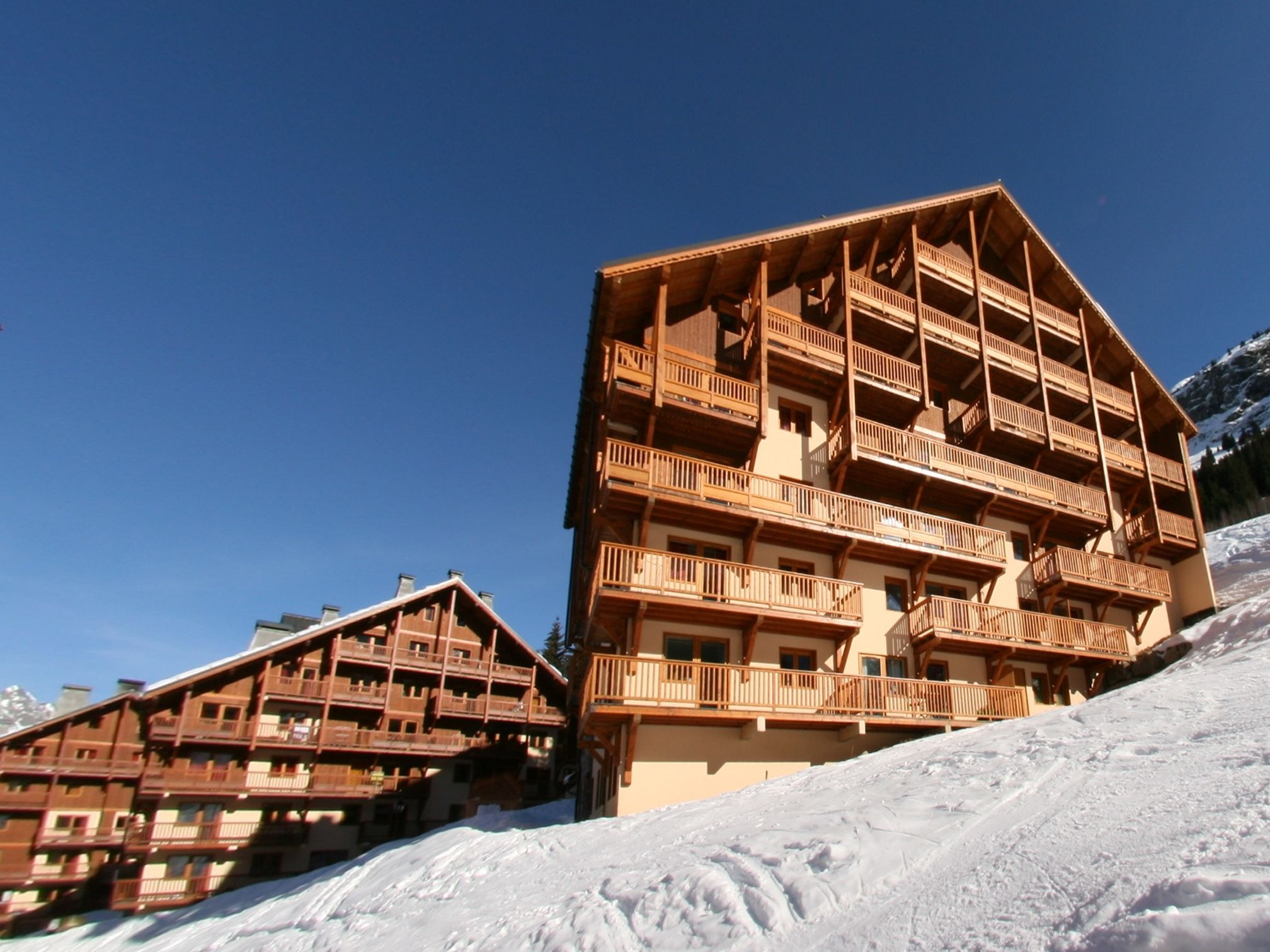 Chalet-appartement Des Neiges - 2 personen