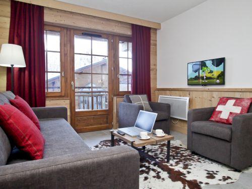 Chalet-appartement Les Fermes de Châtel met cabine - 4-6 personen