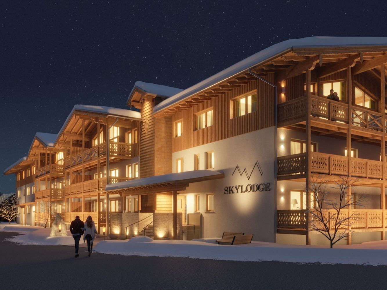 Appartement Skylodge Alpine Homes type penthouse II, zondag t/m zondag - 8-10 personen