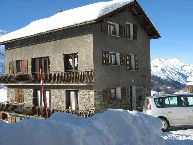 Chalet appartement Le Genepi combinatie 4 6 8 persoons appartement 10 12 personen