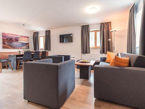 Chalet-appartement Haus Pur bovenverdieping met privé-sauna - 6-8 personen
