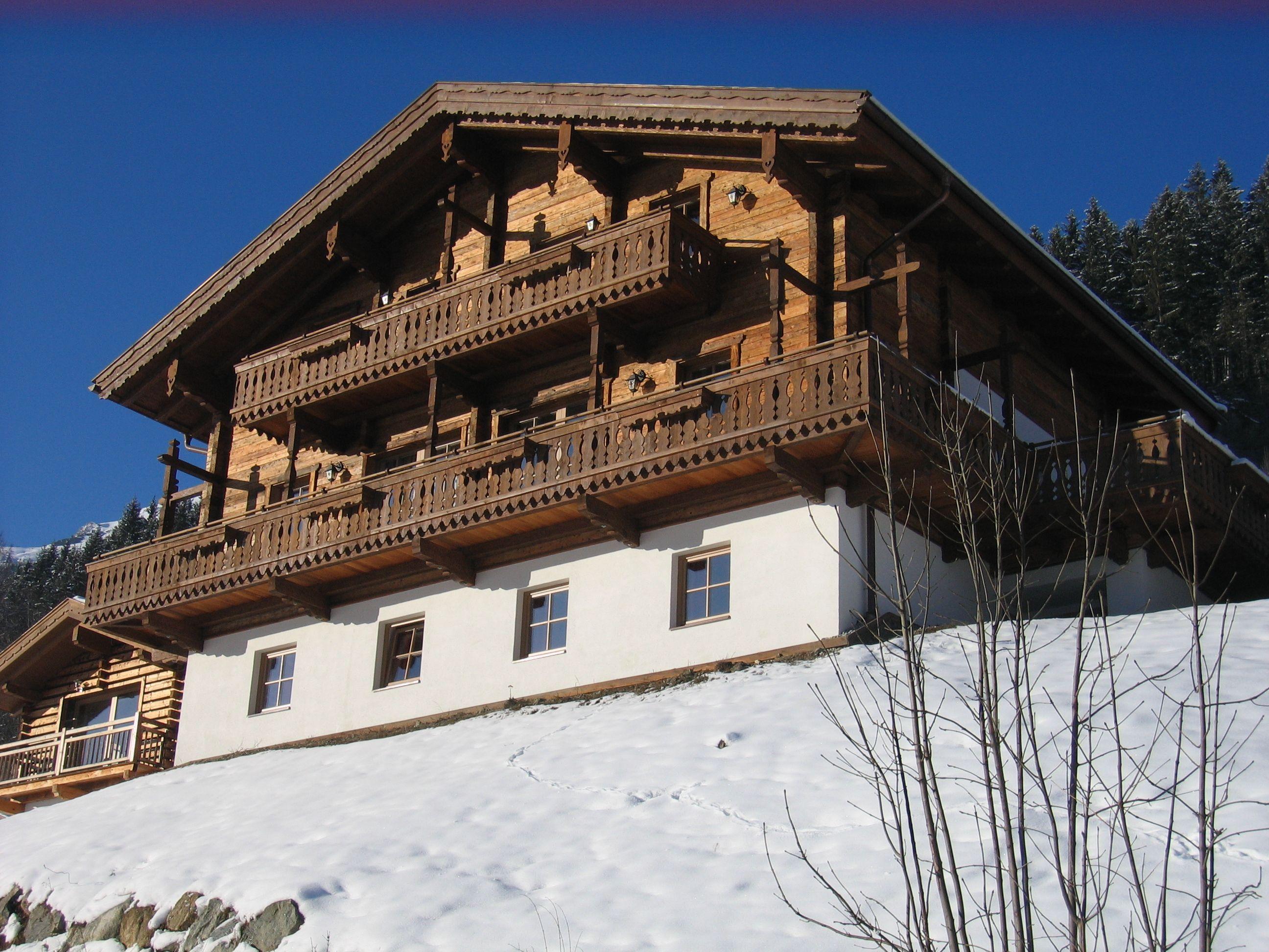 Chalet Schöneben Bauernhaus met sauna - 20-24 personen