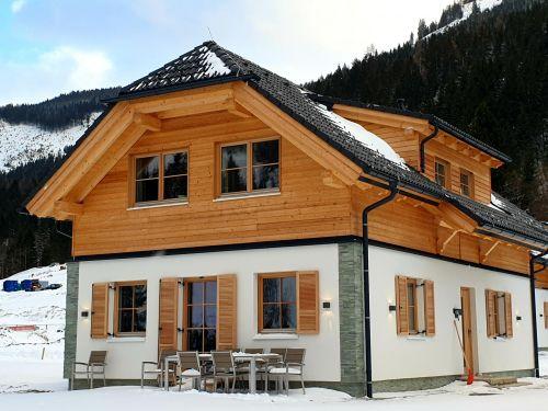 Chalet Riesneralm Chalets Haus am Bach - 9-10 personen