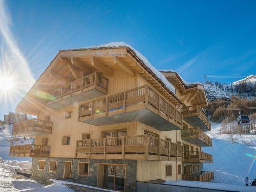 Appartement Lodge des Neiges met cabine - 6-8 personen