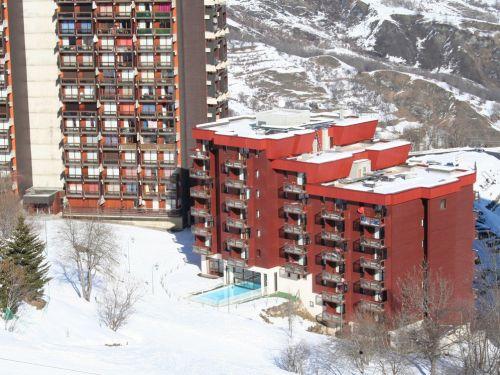 Appartement Les Terrasses du Corbier met cabine - 4-6 personen
