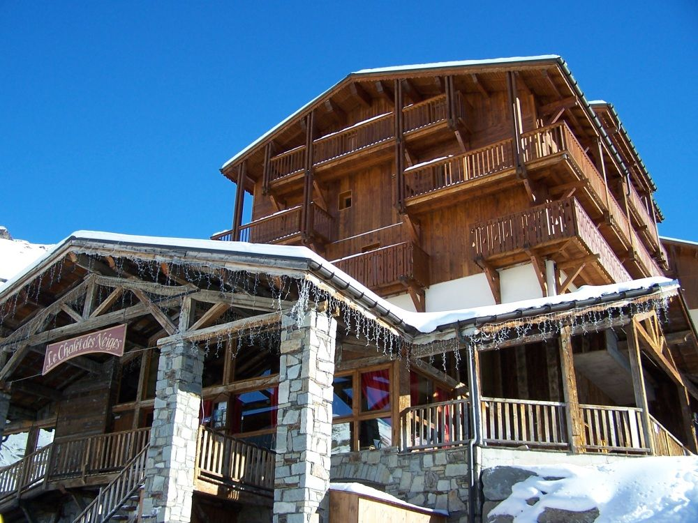 Chalet-appartement des Neiges Hermine - 10 personen