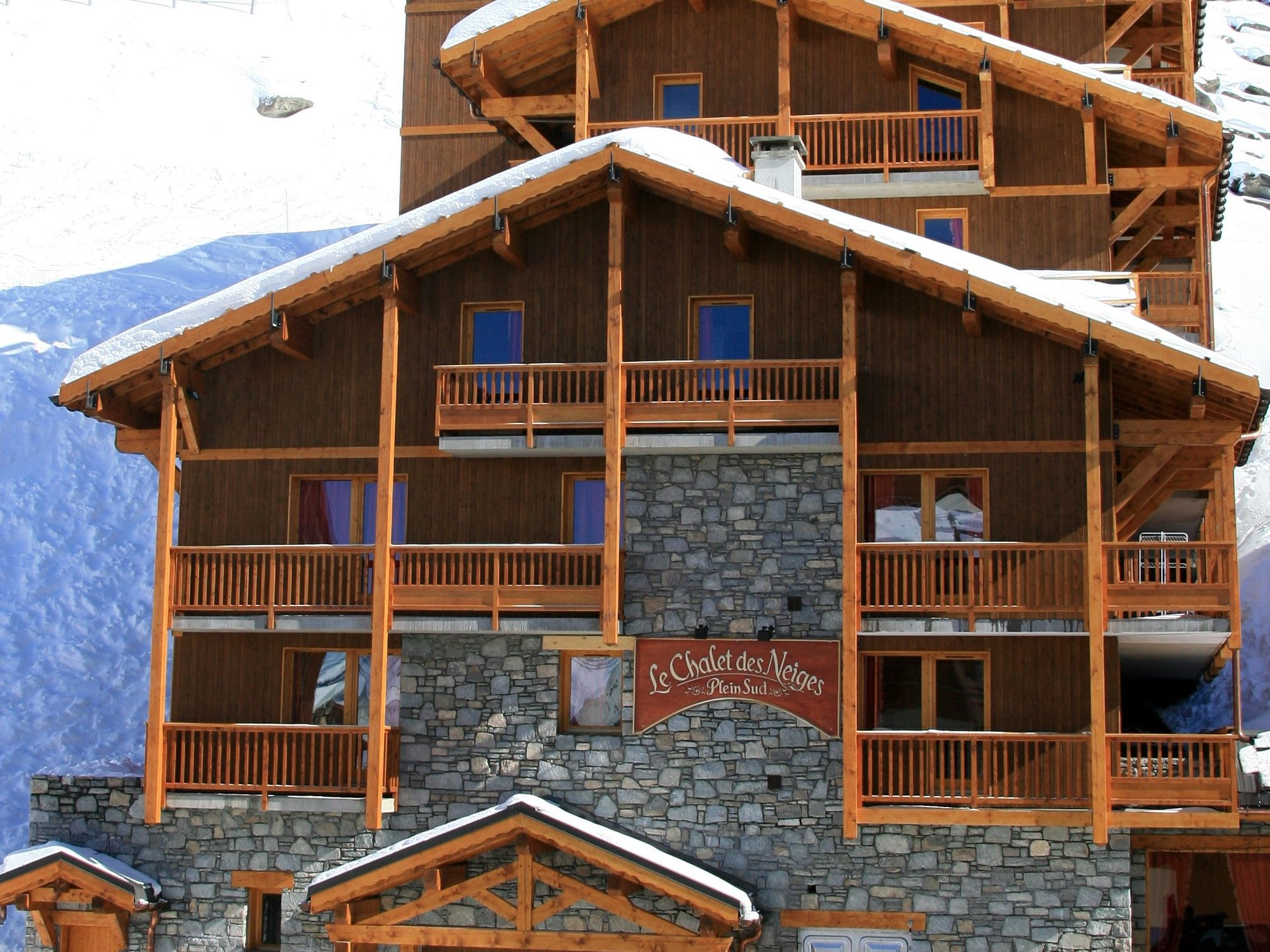 Appartement Val Thorens - Appartement Chalet des Neiges - Plein Sud