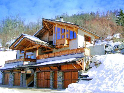 Chalet Balcon du Paradis + Piccola Pietra, met twee sauna's en whirlpool - 20-22 personen