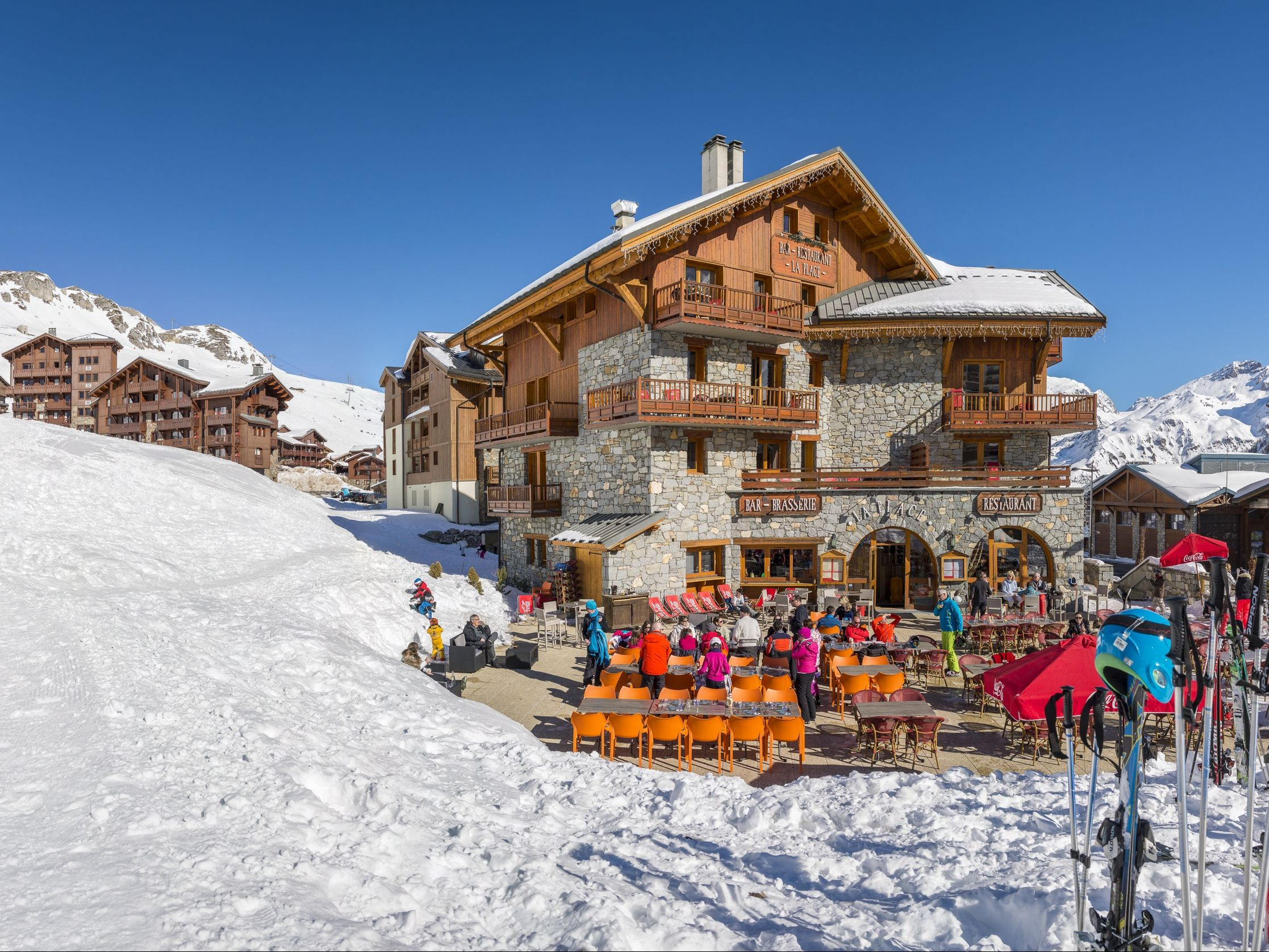 Appartement Tignes - Appartement Village Montana Planton