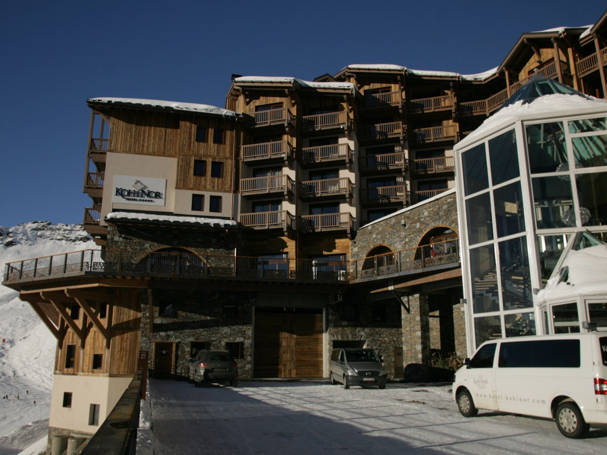 Chalet-appartement Koh-i Nor type A - 81 m² - 6 personen