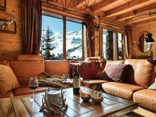 Chalet Le Hameau des Marmottes met familiekamer en sauna – 12-14 personen