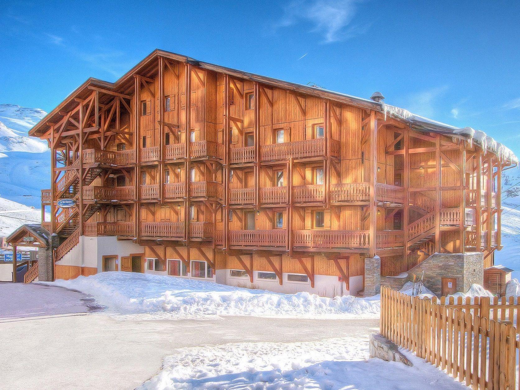Chalet-appartement Le Val Chavière met sauna - 10-12 personen