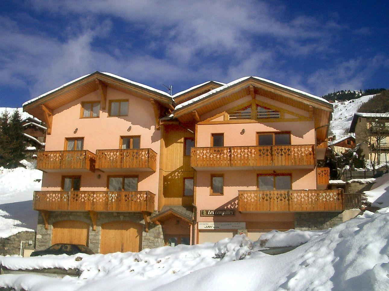 Appartement Coronilles combinatie 2x4 + 2x6 + 2x8 personen - 26-36 personen