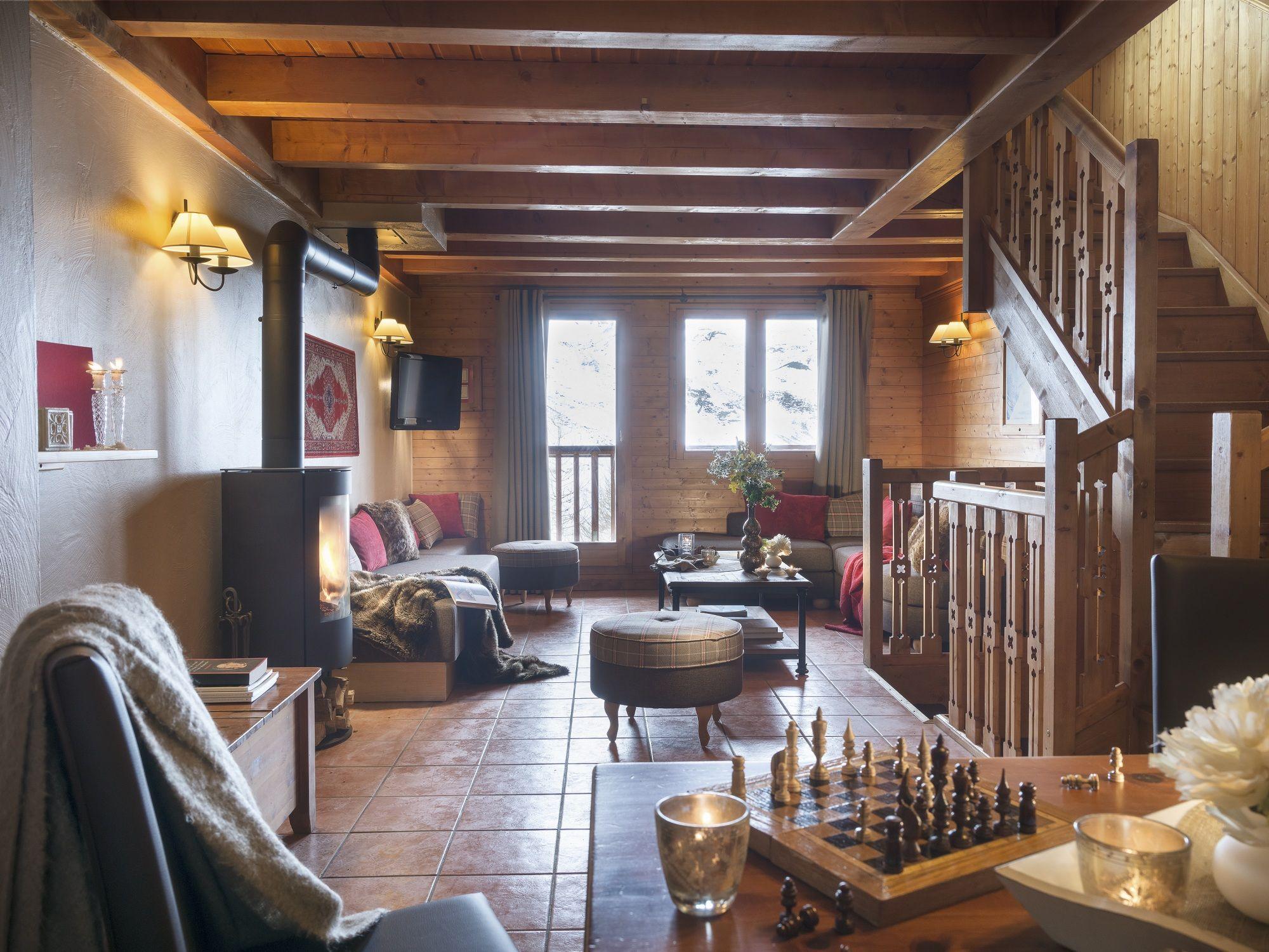 wintersport les menuires chalet appartement montagnettes hameau de la sapini 232 re met cabine