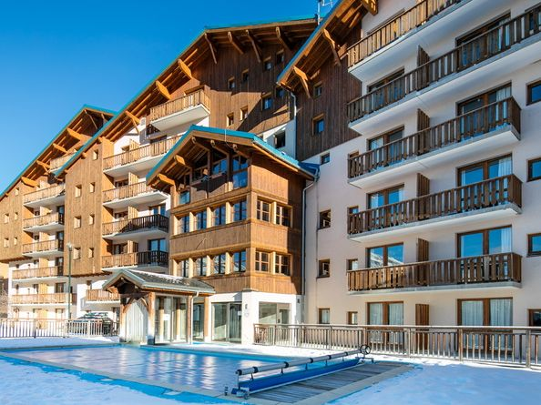 Appartement Résidence La Turra - 6-8 personen