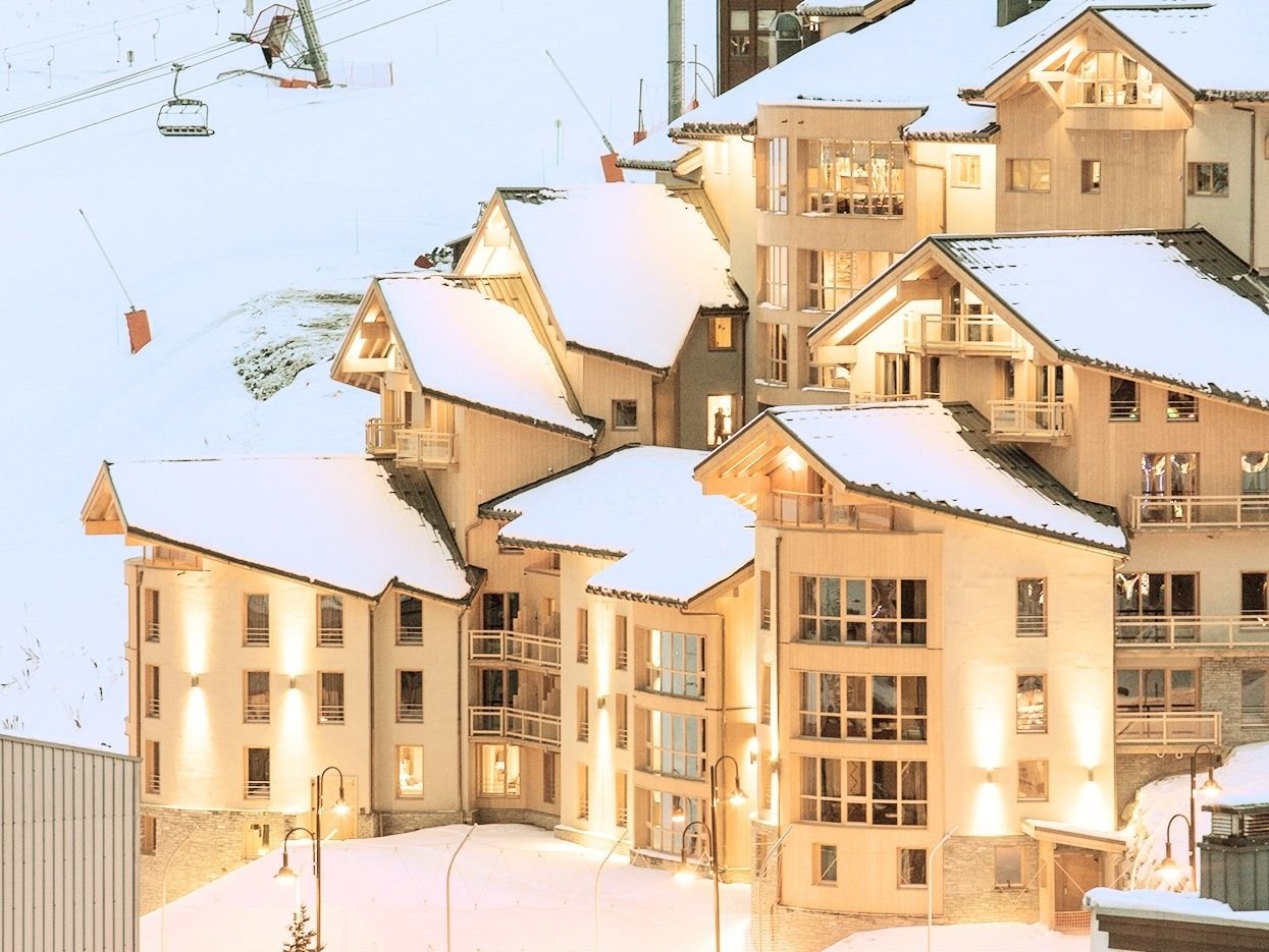 Chalet-appartement Montagnettes Taos - 4-5 personen