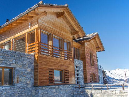 Chalet Matterhorn met sauna en buiten-whirlpool - 10 personen